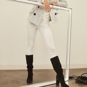 Super Tall Suede boots Knee High Boots